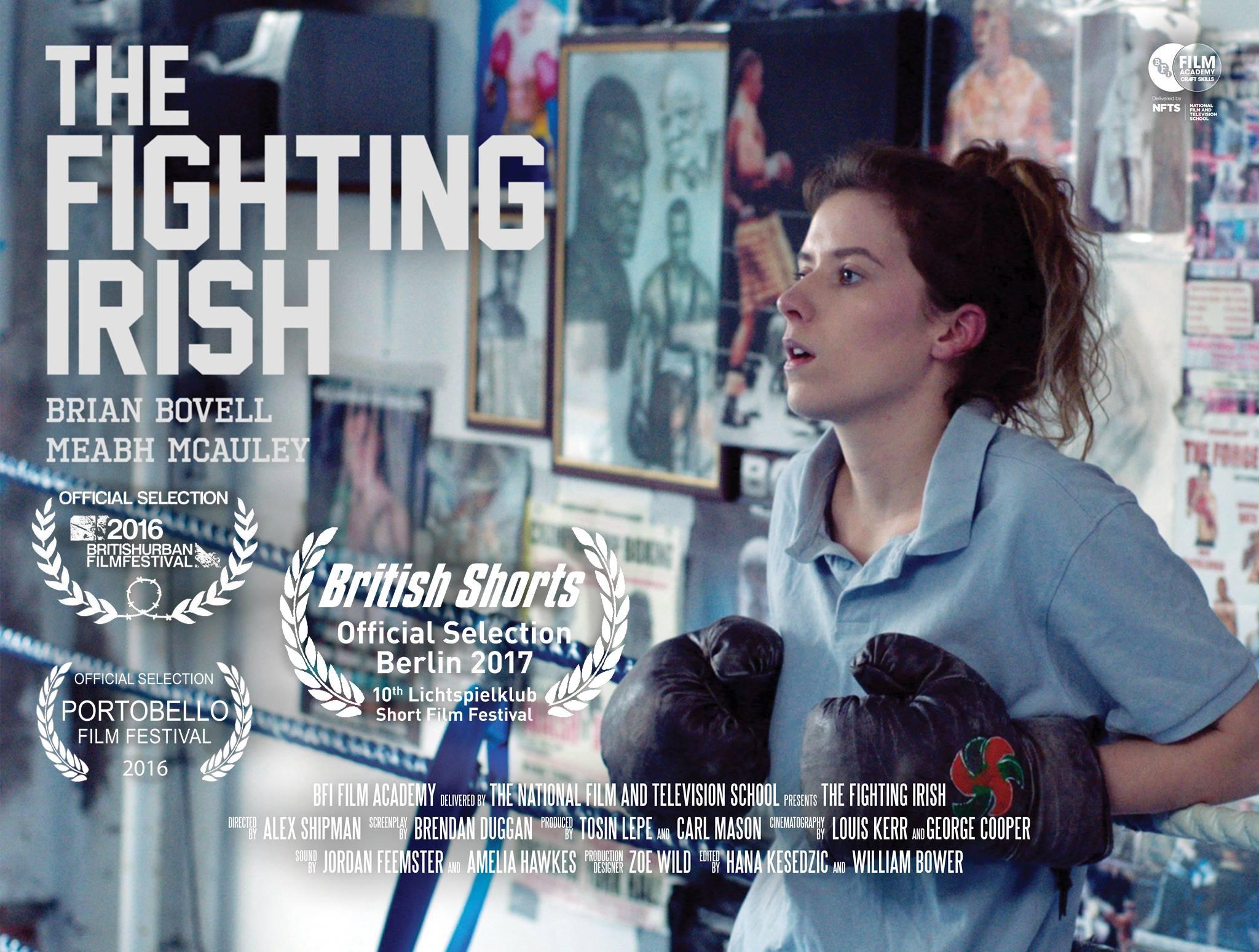 The Fighting Irish Film Poster
