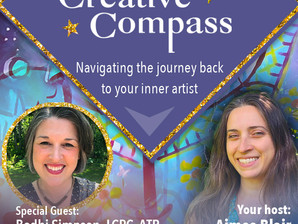 Creative Compass: Navigating the Journey Back to your Inner Artist - FREE 5 day virtual series
