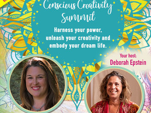 FREE Virtual Event - Register Now!! Life is Art - Conscious Creativity Summit