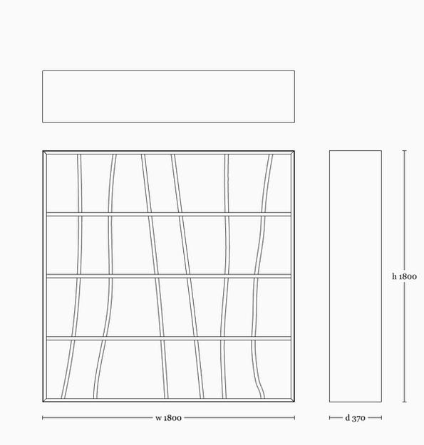 Darakorn shelf 1800(square)