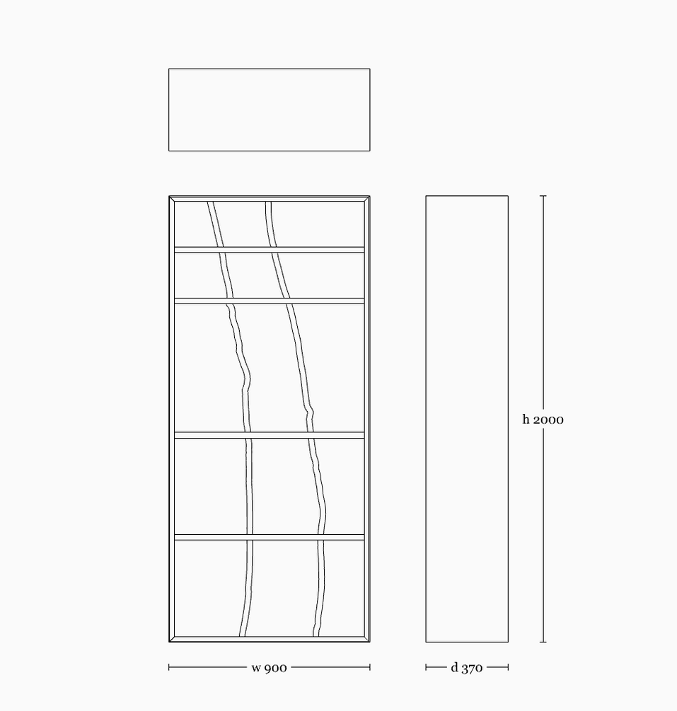 Darakorn shelf 2000(vertical)