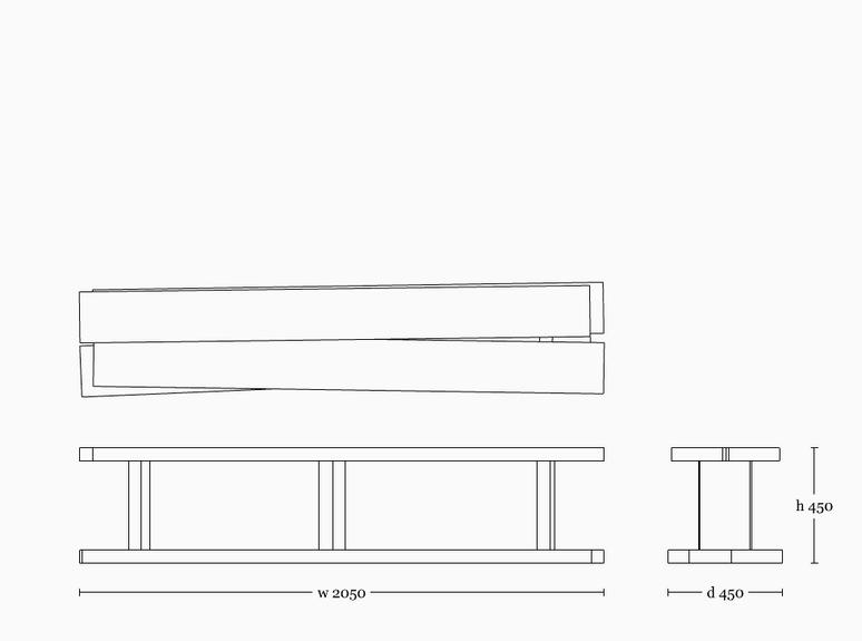 Mesa shelf 450