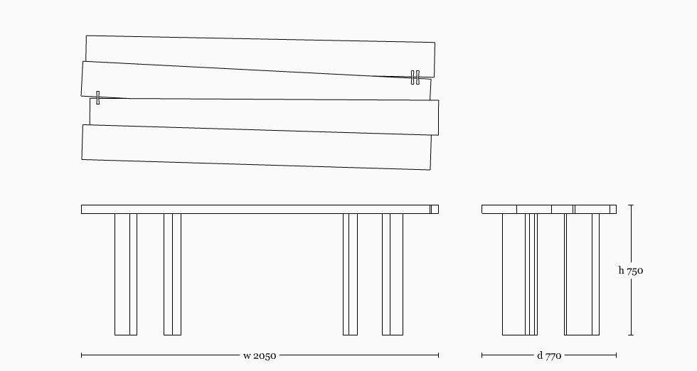 Mesa table 2000