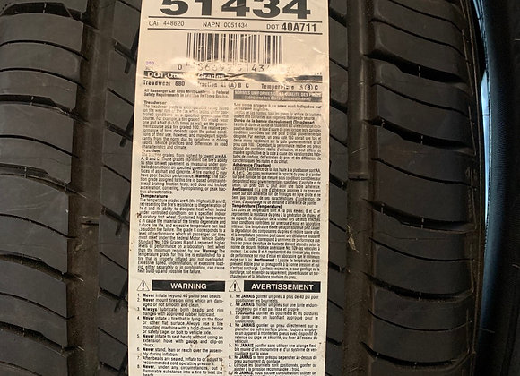 4 new tires Bf Goodrich 225/50R17