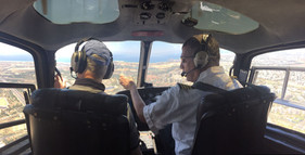 helicopter tour israel