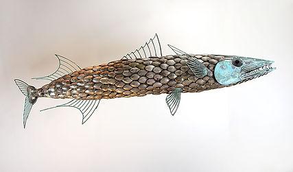 Wahoo Fish Sculpture