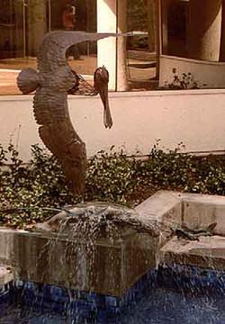 """Pelican Fountain"""