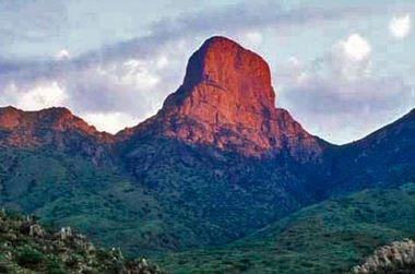 Baboquivari Peak at Dawn