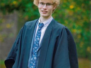 PWIS Scholar Ben Schwabe to study Natural Sciences at University of Cambridge - congratulations!