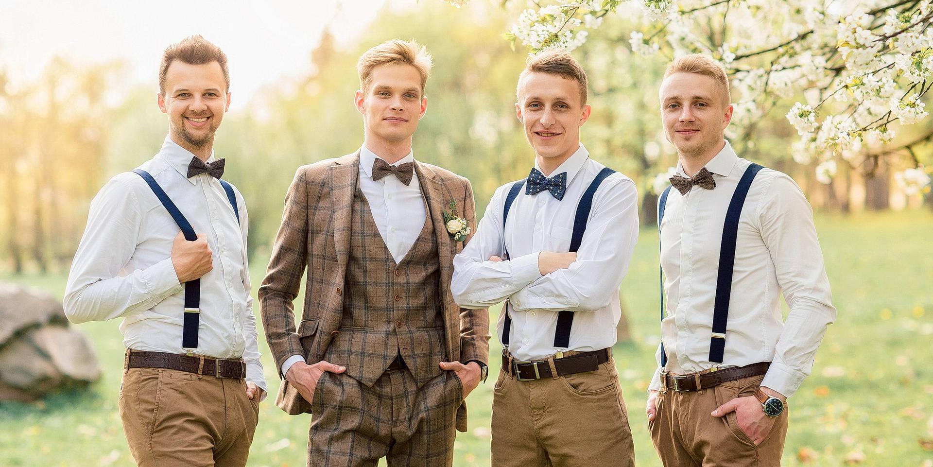 стильные наряды жениха