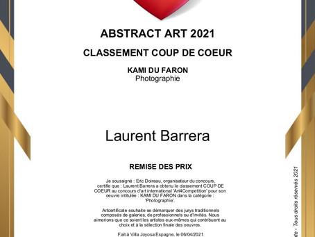 Concours Abstract Art 2021 Coup de coeur du Jury