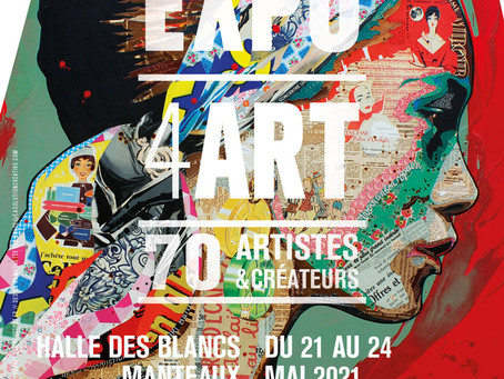 Salon à Paris Expo4Art du 21 au 24 mai