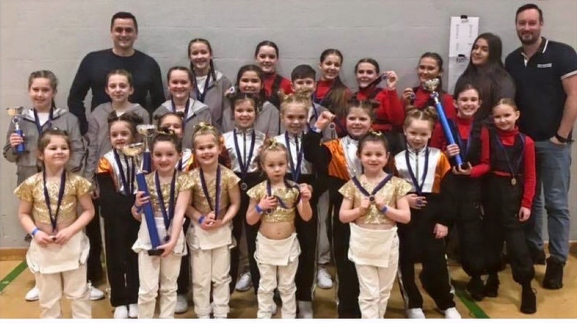 Winners at 'Iconic ST Dance Comp'