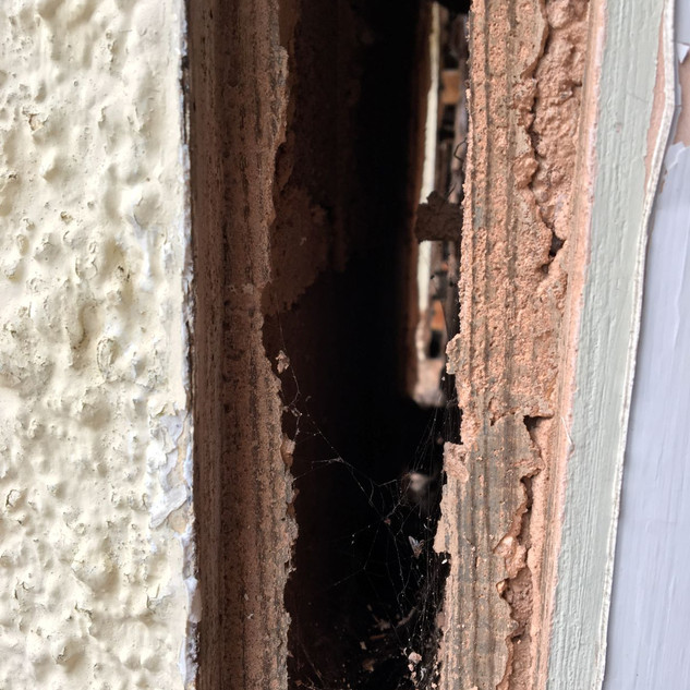 Gaps in walls