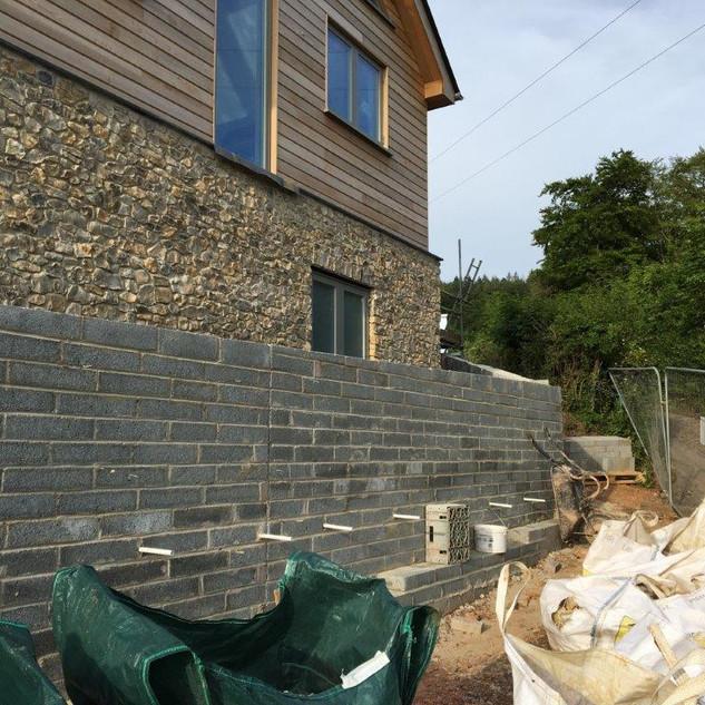 Ready for stonework