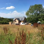 Back of Little Brook house