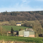 House view from across the farm