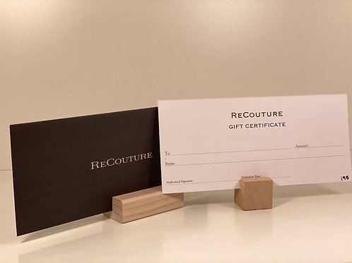 Re-Couture Gift Card