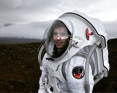 A HI-SEAS spacesuit