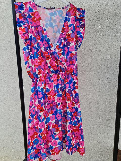 Robe courte Flora
