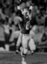 Nat Moore scoring a touchdown
