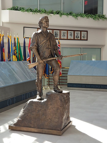 Minuteman sculpture