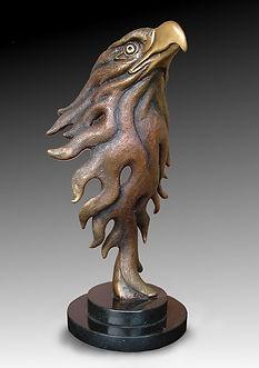 Eagle head by Deran Wright