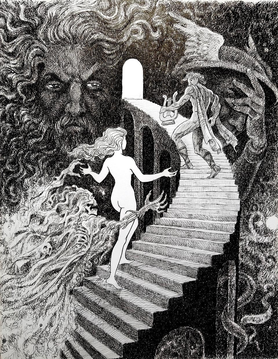 Orpheus & Eurydice - Deran Wright