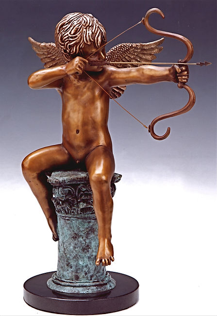Cupid, Eros, a sculpture by Deran Wright