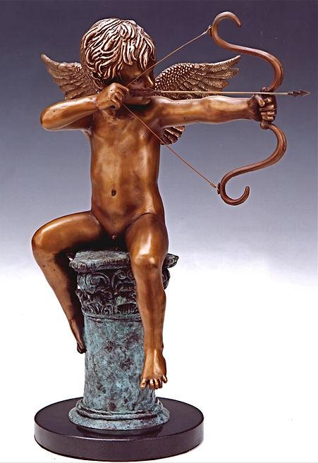 Cupid, Eros, the gosd of desire, by Deran Wright