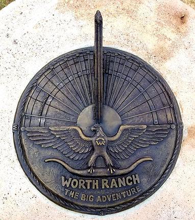 Worth Ranch Sundial