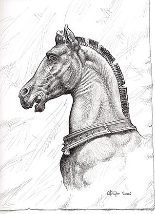 St Mark's horse