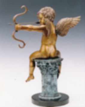 Cupid, Eros, the god of desire, by Deran Wright, rear