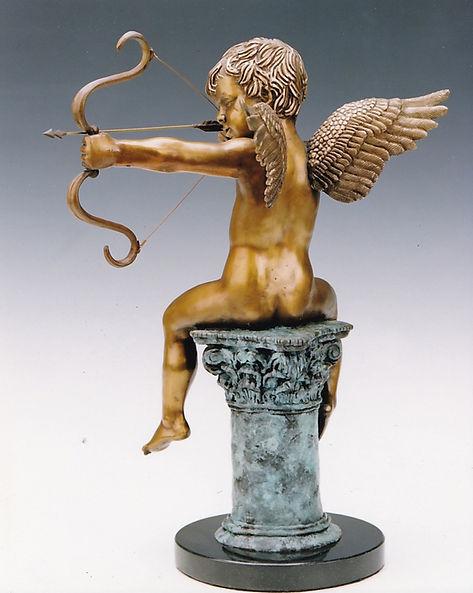 Cupid, Eros, the god of desire, by Deran Wright, rear
