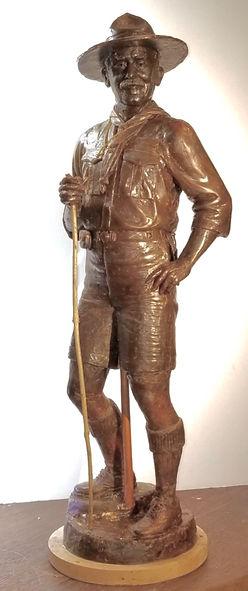 Baden-Powell sculpture by Deran Wright