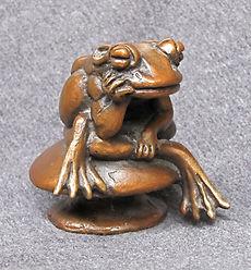 Melancholy Frog by Deran Wright