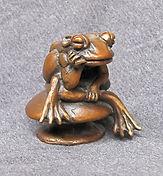 Frog Thinker by Deran Wright