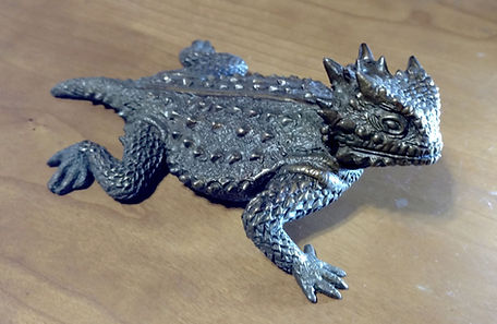 Horned Frog, Horned Toad by Deran Wright