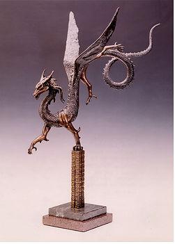 Dragon Recurvent by Deran Wright