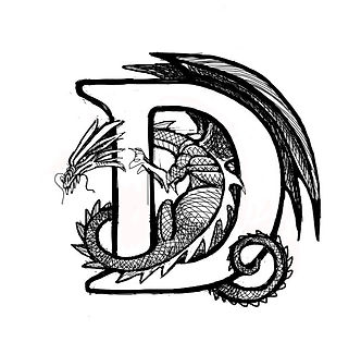 """D"" from the Dragon Alphabet"