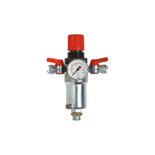 """Art. 850 Two deliveries pressure reducer 1/2"""""""
