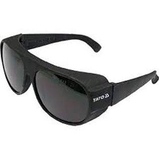 Safety glasses dark