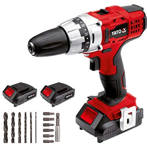 Brushless cordless drill