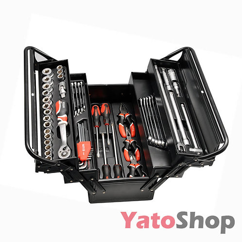Tool box with tools 63 pcs
