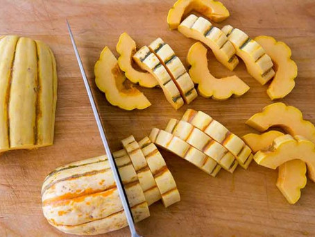 Delicata squash - perfect fall vegetable