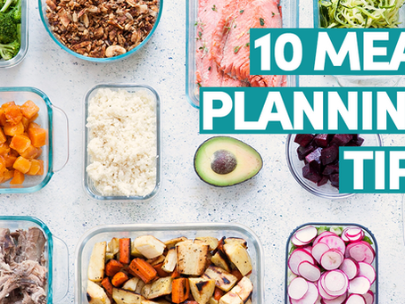 10 day meal planning challenge - get free daily tips and worksheets