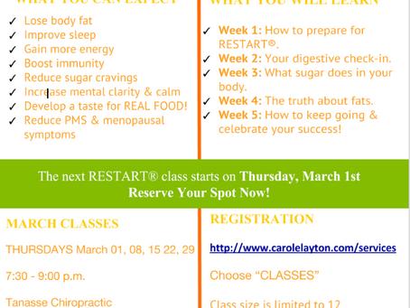 RESTART your health in 5 weeks