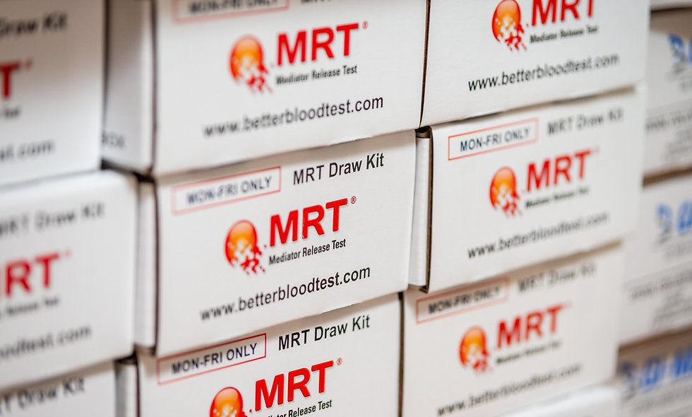 MRT170 Food Sensitivity Blood Test