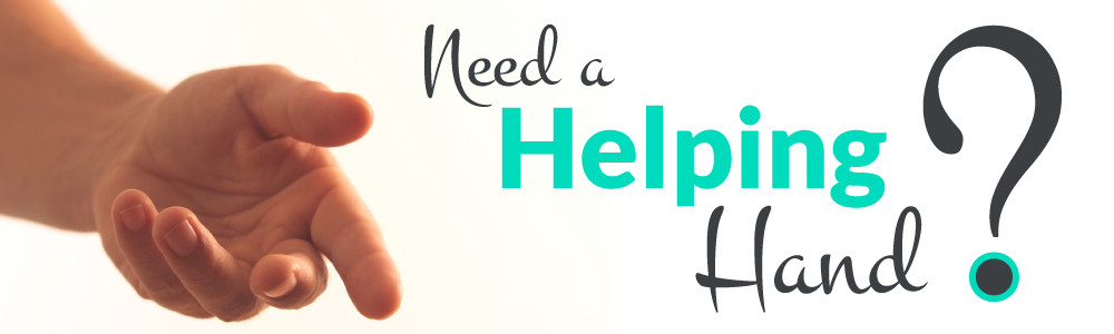 Helping hand graphic