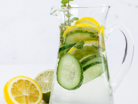 Upgrade your hydration with infused water